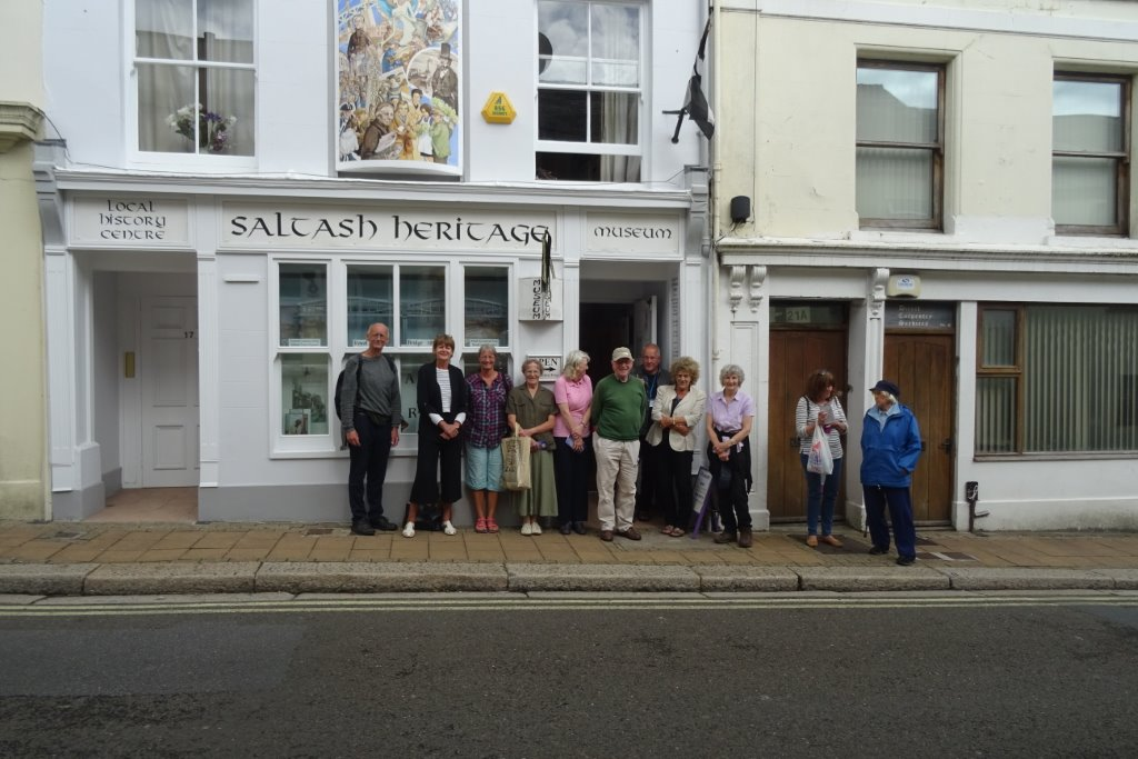 Saltash Blue Plaque Trail walk