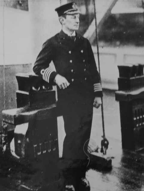 Captain Henry Jackson RN, 1897. Picture courtesy of the Saltash Heritage Collection